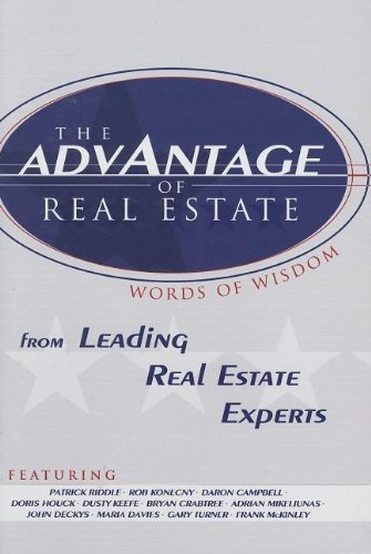 The Advantage Of Real Estate front-13915