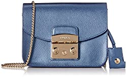 Furla Metallic Metropolis Mini Cross-Body Bag