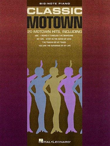 Classic Motown Big Note 20 Motown Hits