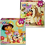Dora the Explorer 24-Piece Jigsaw Puzzle, Styles Vary Children, Kids, Game