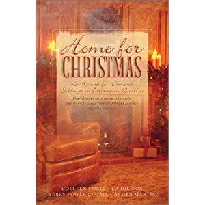 """Home for Christmas"" by Colleen Coble, Carol Cox, Terry Fowler, Gail Gaymer Martin :Book Review"
