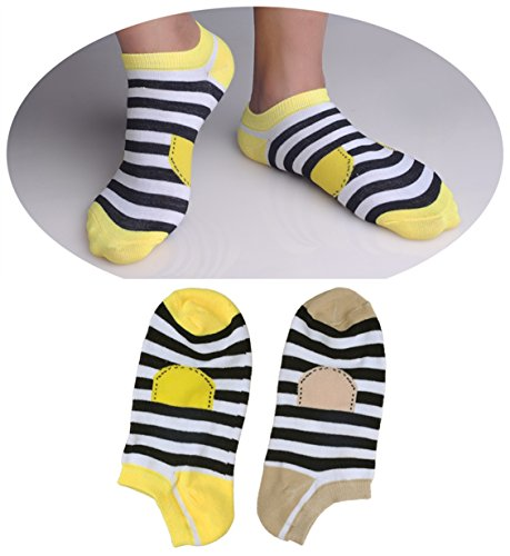 QASocks 2-Pack Cotton Ankle Socks Low Cut Ultimate Liner Mens Socks (College Girl Halloween Pics)