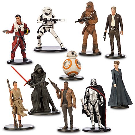 Official-Disney-Star-Wars-The-Force-Awakens-10-Deluxe-Figurine-Playset
