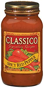 Classico Spicy Red Pepper Pasta Sauce 24 oz from Classico
