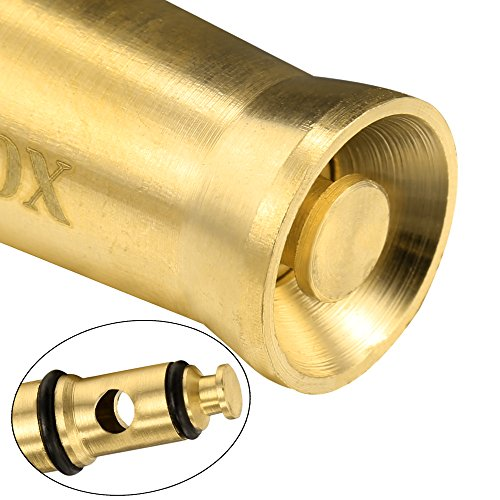 Hose nozzle high pressure lead free with 6 free rubber washers gold