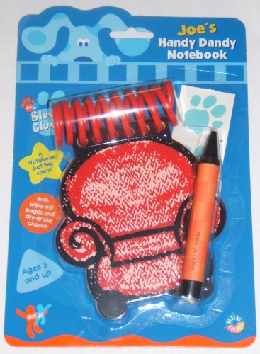 Buy Blue's Clues Joe's Handy Dandy Notebook