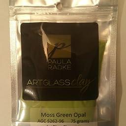 Moss Green ArtGlass Clay 75g 96COE