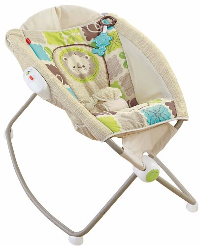 Fisher-Price Newborn Rock 'n Play Sleeper, Rainforest Amigos