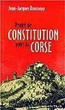 Projet de constitution de la Corse