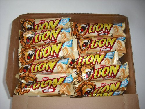 Nestle White Lion Bar - 1 x 10 singole