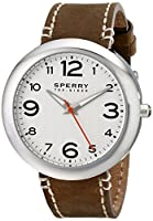 Sperry Top-Sider Men's 10008967 Sandbar Analog Display Japanese Quartz Brown Watch from Sperry Top-Sider Watches MFG Code