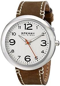 Sperry Top-Sider Men's 10008967 Sandbar Analog Display Japanese Quartz Brown Watch from Sperry Top-Sider Watches MFG Code