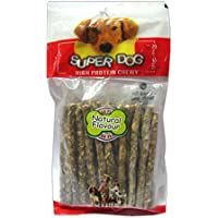 Super Dog Munchy Sticks Natural 10 Pieces (Pack Of 4)