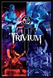 Poster - Trivium Poster Live + ALU-Rahmen, schwarz von Trivium