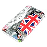 deinPhone Coque rigide de protection pour Nokia Lumia 620 Motif Londres et Union Jack