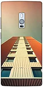 Snoogg Top Floor Solid Snap On - Back Cover All Around Protection For Oneplus...