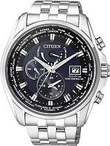 Citizen Herren-Armbanduhr XL Analog Quarz Edelstahl AT9030-55L
