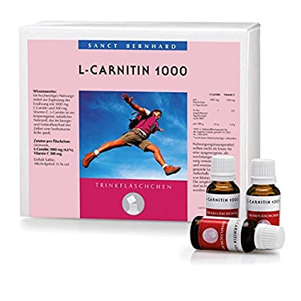 L-Carnitin mit 1000mg L-Carnitin und 300mg Vitamin C 600 ml