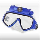 Tauchmaske 'TAC-220' mit Digitalkamera - Mit abnehmbarer Unterwasserkamera für grandiose Aufnahmen!