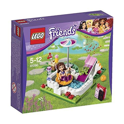 レゴ フレンズ ガーデンプール 41090