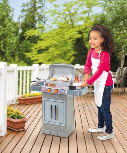 This Little Tikes Cook N Grow BBQ Grill Will Be A Great Addition To Any Deck Or Patio!
