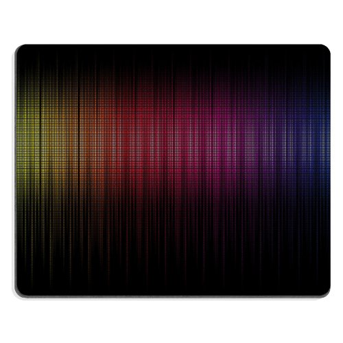 Pattern Colorful Spectrum Mouse Pads Customized Made To Order Support Ready 9 7/8 Inch (250Mm) X 7 7/8 Inch (200Mm) X 1/16 Inch (2Mm) High Quality Eco Friendly Cloth With Neoprene Rubber Liil Mouse Pad Desktop Mousepad Laptop Mousepads Comfortable Compute front-528505