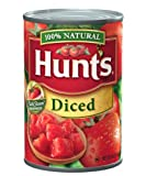 Hunt's  Diced Tomatoes, 14.5-Ounce Cans (Pack of 24)