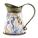 Michel Design Works Tin Watering Can, Seashore