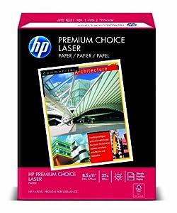 "HP 11310-0 HP Premium Choice Laserjet Paper, White, 32-lb., 8-1/2"" x 11"", 500 Sheets/ream"