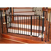 Cardinal Gates Extension for Wrought Iron Décor Pet Gate, 10.5-Inch, Black