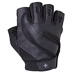 Harbinger Pro FlexClosure Wash & Dry Glove (Black, X-Large)