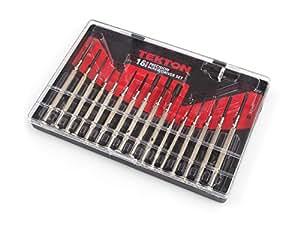 TEKTON 2987 Precision Screwdriver Set, 16-Piece