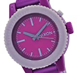 Nixon Women's A287698 Gogo Purple Rubber Purple Dial Watch