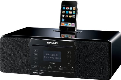 Sangean DDR-63 All-in-One Table Top  WiFi Internet,
