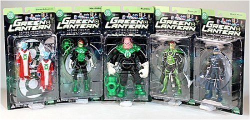 Picture of DC Direct Green Lantern 1: Action Figures Case of 10 (2 Sets) (B000W7I4XG) (Green Lantern Action Figures)
