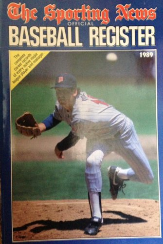 Sporting News Baseball Register 1989