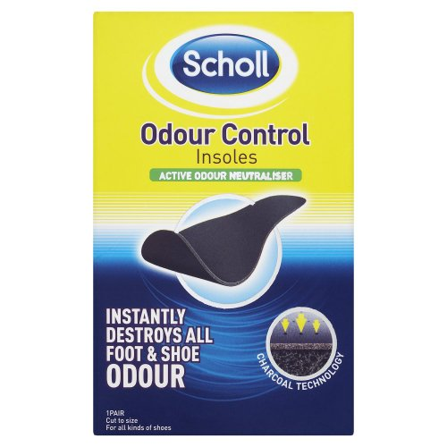 Scholl Footcare - Super Odour Control Insoles Unisex Cut To Size - 1 pair
