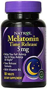 Melatonin 5mg Time Release - 100 - Tablet