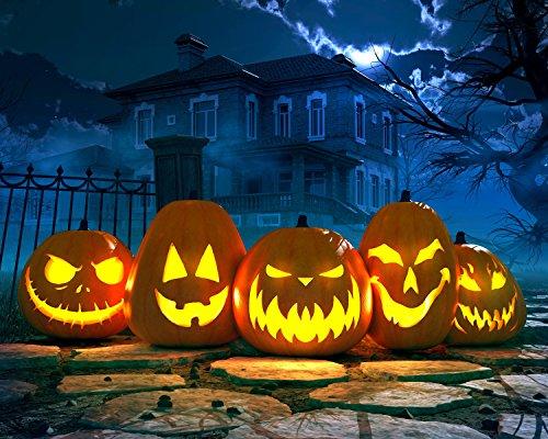 Spooky Halloween Pumpkins 504 Piece Jigsaw Puzzle