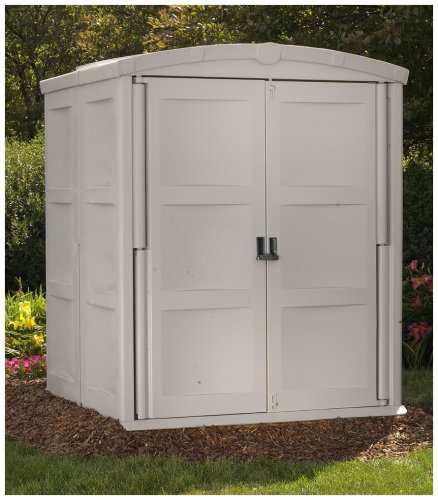 Suncast storage shed large sale