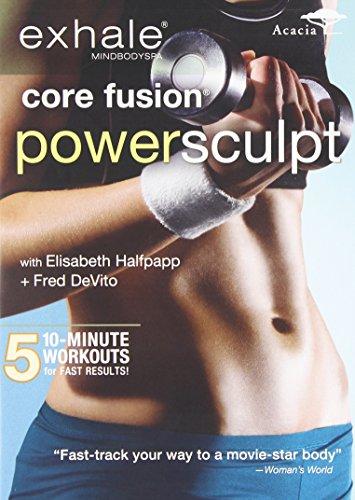 DVD : Exhale: Core Fusion Power Sculpt (DVD)