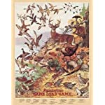 Outdoor Metal Tin Sign Remington Game Load Nostalgic