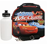 Disney Car Lunch Bag with a Water Bottle - Black