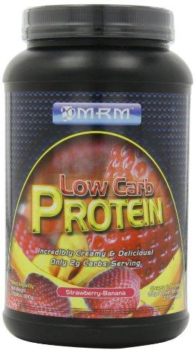 Mrm Low Carb Protein,Creamy Strawberry-Banana Shake, 1.784-Pound