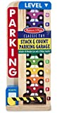 Wooden Stack & Count Parking Garage Classic Toy