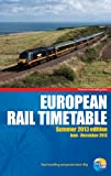 European Rail Timetable Thomas Cook Publishing