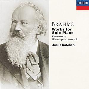 Brahms : Oeuvres pour piano solo (Coffret 6 CD)