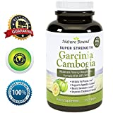 New!! 80% HCA Garcinia Cambogia Extract - Pure, Natural Weight Loss Supplement - Highest Dosage & Best Formula - Guaranteed By Nature Bound