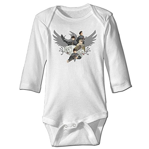 Show Time JSnow Long Sleeve Bodysuit Outfits White 24 Months (Snow White Outfit Ideas)