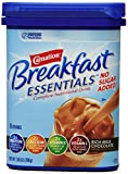 Carnation Breakfast ESSENTIALS No Sugar Added Chocolate Powder, 7.05-Ounce (Pack of 12)